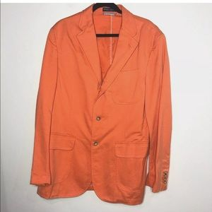 Polo Ralph Lauren Size Large Bright Orange Blazer